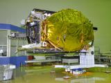 GSAT-18 Spacecraft undergoing test at ISITE Bengaluru
