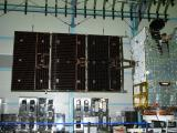 GSAT-31 during South Solar Panel deployment Test