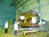 Integration of GSAT-6A Satellite in Progress