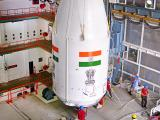 Payload Fairing with GSAT-6A is being Integrated