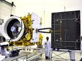 GSAT-12 undergoing various checks