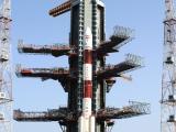 Panoramic view of PSLV-C17 on Launch Pad