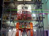 Stage 2 Undergoing Checks At Stage Preparation Facility