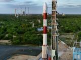 PSLV-C35 on First Launch Pad