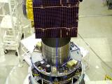 IRNSS-1E spacecraft integrated with PSLV-C31