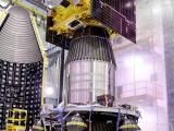 IRNSS-1F spacecraft integrated with PSLV-C32