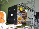 IRNSS-1F in clean room during its integration
