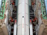 Integration of PSLV-C23 Second Stage in progress