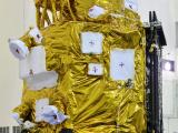 Cartosat-2 Series Satellite in Clean Room at SHAR