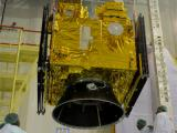 Oceansat-2 being integrated with PSLV-C14