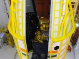 PSLV-C14 heatshield being closed