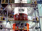 PSLV-C19-PS2-SECOND STAGE UNDERGOING CHECKS