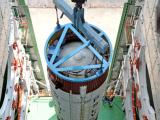 PSLV-C20 second stage integration in progress