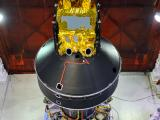 SARAL attached to the fourth stage of PSLV-C20