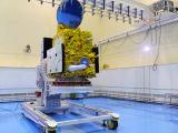 SARAL satellite at Clean Room in Satish Dhawan Space Centre, Sriharikota