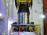 IRNSS-1A Satellite After Its Integration With PSLV-C22