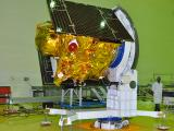 IRNSS-1B satellite is being integrated at ISITE clean room