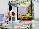 IRNSS-1B satellite in clean room