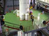 Integration of 1st stage of PSLV-C27.