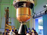 Integration of 3rd & 4th stage of PSLV-C27