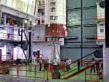 PSLV-C27 2nd stage during Vehicle Assembly