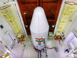 PSLV-C36 with Heat shield closed