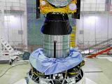 IRNSS-1H Spacecraft integrated with PSLV-C39
