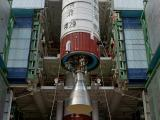 PSLV-C29 Heat-shield closed with six satellites integrated to the Launch Vehicle