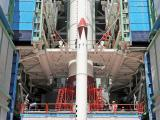 PSLV-C43 1st Stage Integration In-progress