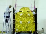IRNSS-1G at clean room at SDSC SHAR