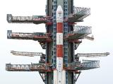 PSLV-C34 on Second Launch Pad