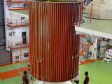 PSLV-C34 second stage integration in progress