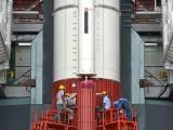 Work on roll control thrusters of the first stage in progress