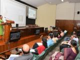 Participants presenting the innovative ideas before expert panel at VSSC auditorium