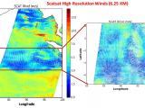 SCATSAT High Resolution Winds (6.25 km)