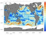 SCATSAT-1 Winds (m/s) Global Coverage – 3rd and 4th Oct, 2016