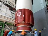 PSLV-C41 Core Stage Integration in Progress