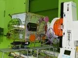 IRNSS-1I Spacecraft Undergoing Test at Clean room of ISITE, ISAC Bengaluru