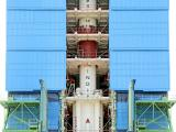 PSLV-C41 Integrated upto Fourth Stage Inside Mobile Service Tower