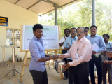 DISTRIBUTION OF STEEL BOWLS TO AVAOID USE OF PLASTIC ITEMS