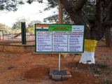 SWACHH BHARAT HOARDING AT HOUSING COLONY