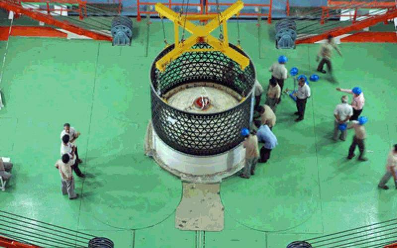First stage of GSLV-D3