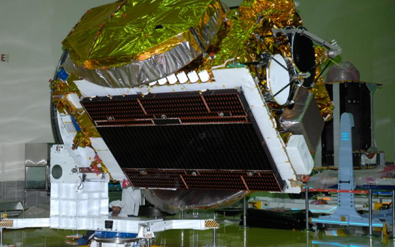 GSAT-10 during physical properties measurement