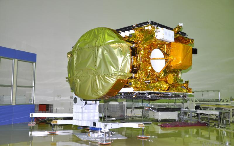 GSAT-15  in clean room undergoing Pre-launch Tests.