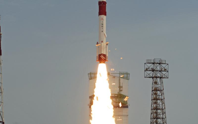 PSLV-C23 Lift Off - View 4