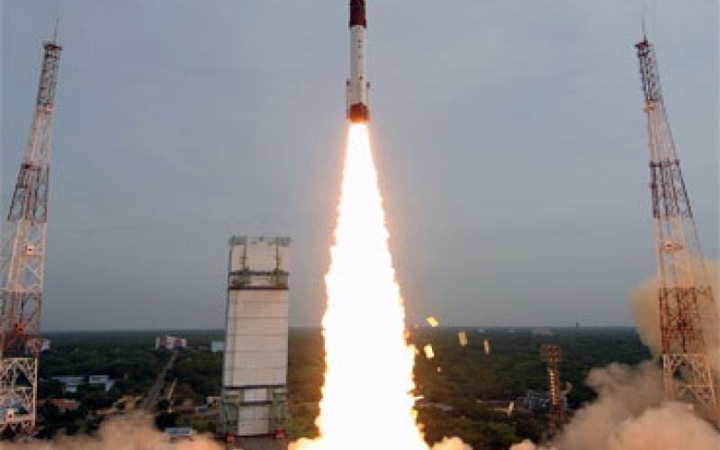 PSLV-C15 lift off view-4
