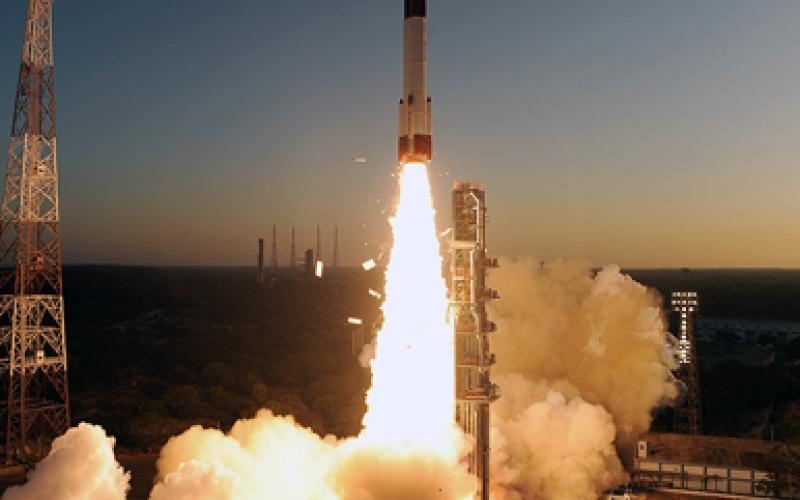 PSLV-C20 Take Off - View 3