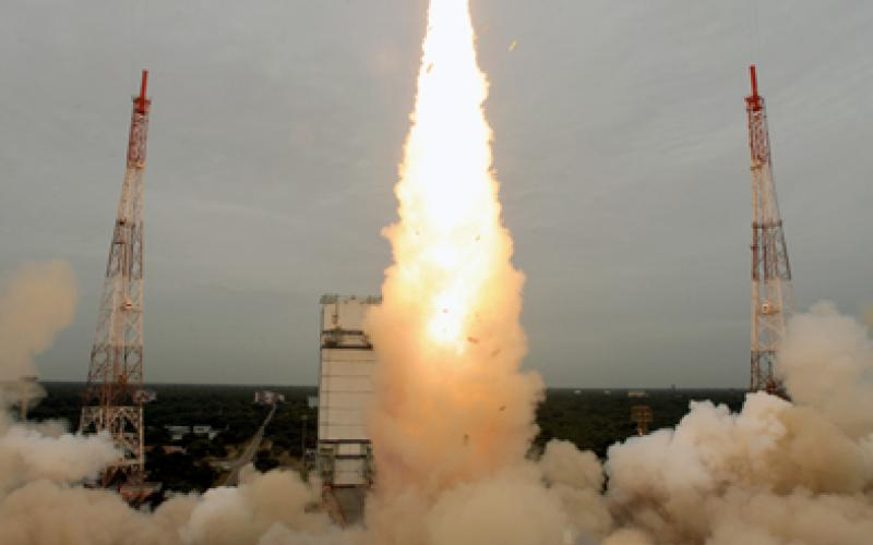 PSLV-C21 Take Off View 3