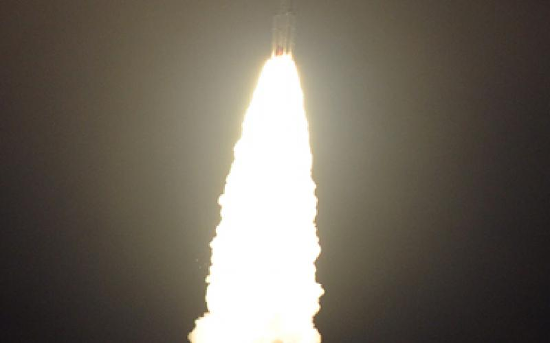 PSLV-C22 TAKE OFF - VIEW 4