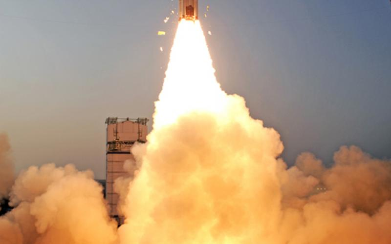 PSLV-C24 Take Off - View 5